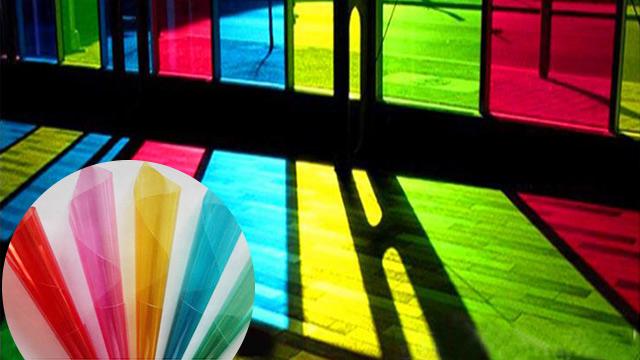 全透彩色装饰膜