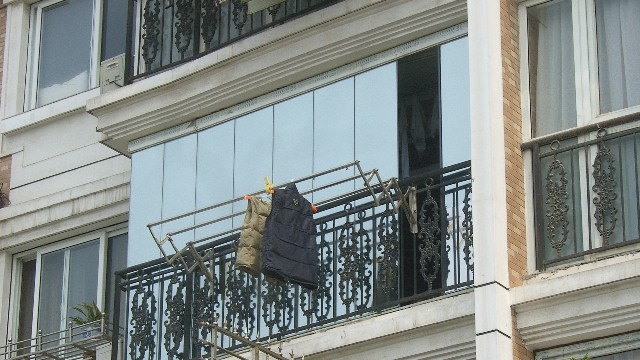 阳台玻璃贴膜