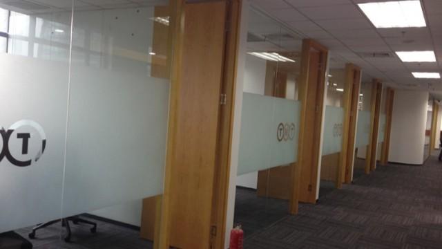 办公室玻璃贴膜