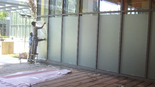 玻璃磨砂膜的材料你都了解吗?