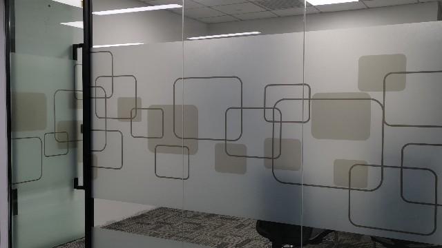 玻璃图案装饰磨砂膜